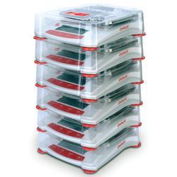 Ohaus 30268987 Stacking & Storage Cover for STX SPX, SKX,SJX 6 Pack