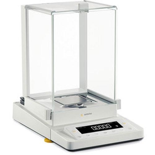 Sartorius MSE224S-ED15 Cubis Analytical Balance Guide-Assisted Leveling and DU Draft Shield 220g x 0.1mg