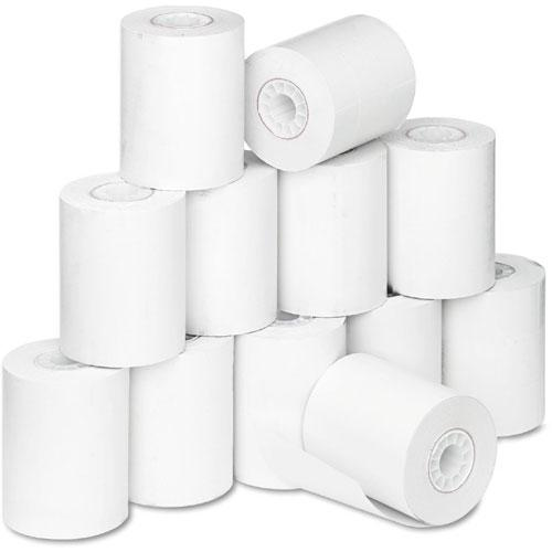 12 Rolls (1 case) of Detecto 7100-0026 D Series Thermal Label Rolls for P225 Printer - 2.25 in x 1.25 in labels