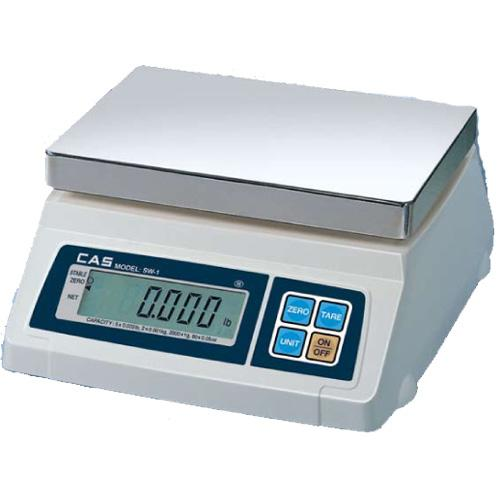 CAS SW-1-50 Portable Digital Scale 50 lb x 0 02 lb Legal for Trade