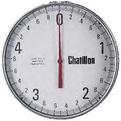 Chatillon Model WT-12 dynamometers can be used as a weighing tensiometor or a crane scale for weighing 500 up to 20,000 pounds.