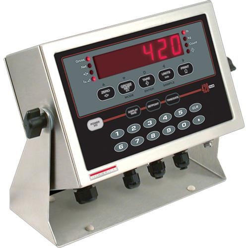 Rice Lake 420 Plus Digital Weight Indicator with Quick Connect