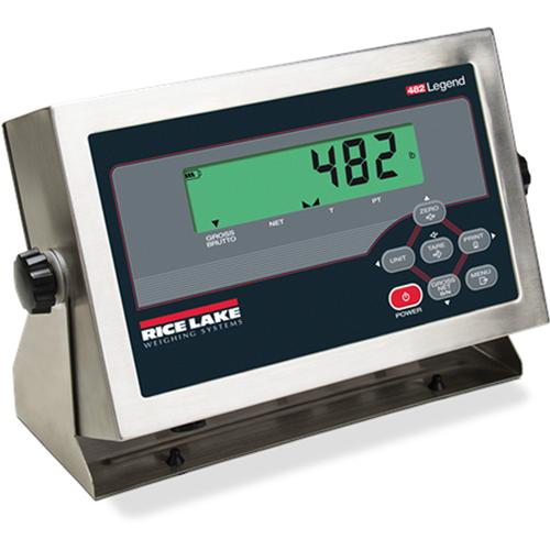 Rice Lake 482 LCD Legend Series Digital Weight Indicator with Quick Connect
