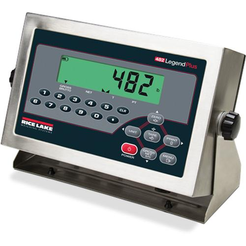 Rice Lake 482 Plus  LCD Legend Series Digital Weight Indicator with Quick Connect
