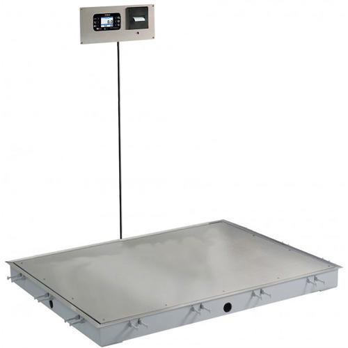 Detecto SOLACE Series ID-4848S-855RMP 4 x 4 ft In-Floor Dialysis Scale 1000 x 0.2 lb