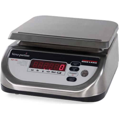 Rice Lake RLP-6S Versa IP68 Legal for Trade Food Portion Scale 6 x 0.002 lb
