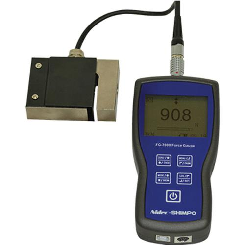 Shimpo FG-7000L-S20 Digital Force Gauge with S-Beam Load Cell  4500 x 1 lb