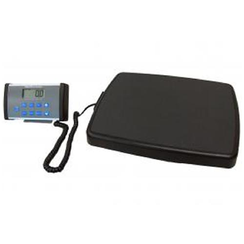 Health O Meter 498KL-AD Physician Scale  with Remote Display and AC-Adapter 500 lb X 0.2 lb