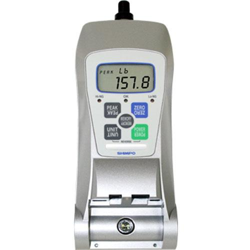 Shimpo FGE-10XY Digital Force Gauge 10 lb//5 kg//50 N Measuring Range 0.2/% Accuracy 4-Digit LCD Display
