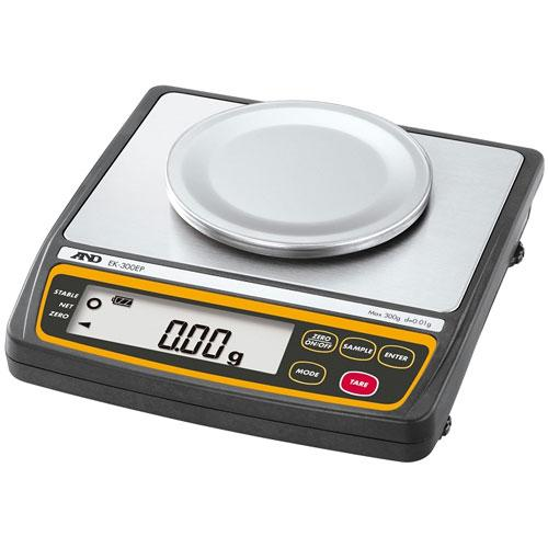 AND Weighing EK-300EP Intrinsically Safe Explosion Proof Compact Balance - 300g x 0.01g