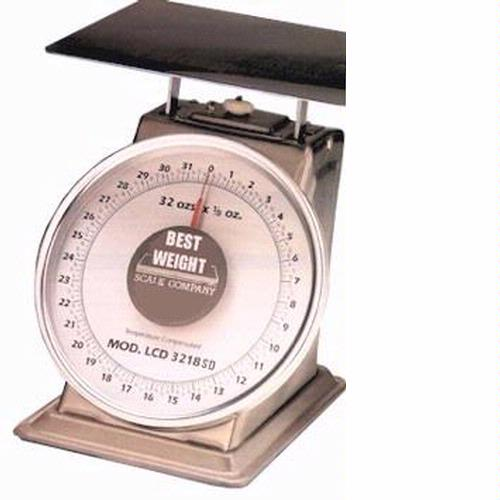 Best Weight B-40 Mechanical Dial Scale, 40 lbs x 2 oz