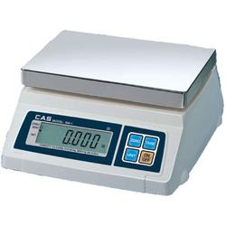 CAS SW-1-20 Portable Digital Scale, 20 lb x 0.01 lb, Legal for Trade