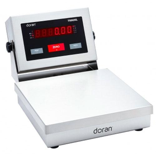 Doran 7002XL/88-ABR Bench Scale with 8 x 8 inch Base and Attachment Bracket 2 x 0.0005 lb