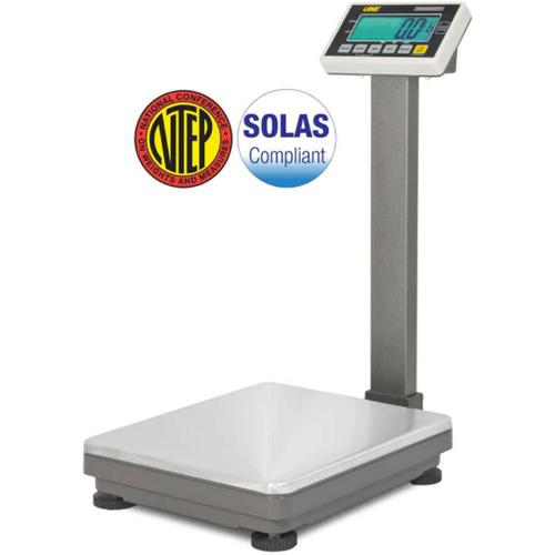 UWE UFM-F300 (3-UFM-S300-112)  Stainless Steel  16.5 x 20.5 inch Legal for Trade Bench Scale 600 x 0.1 lb