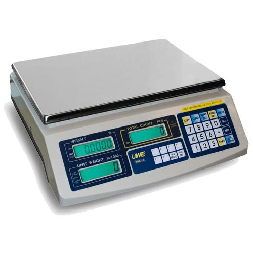 UWE SAC-150 (3-SAC-T150-022)  Intelligent-Count Basic Counting Scale 30 x 0.002 lb /75 x 0.005 lb / 150 x 0.01 lb