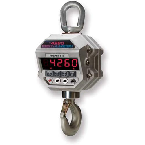 MSI 156015 Port-A-Weigh MSI-4260-IS Legal for Trade Intrinsically Safe Crane Scale 5000 x 1.0 lb