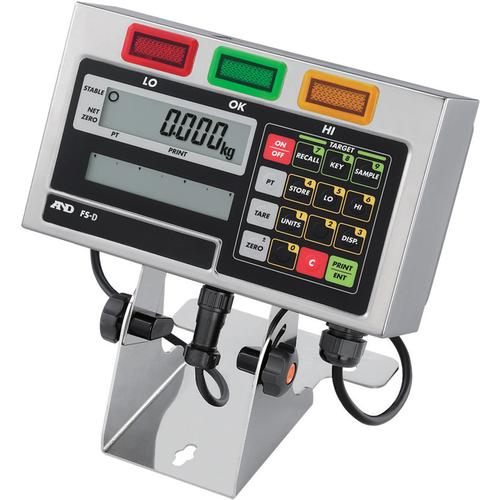AND Weighing FS-D IP65 Weighing Indicator