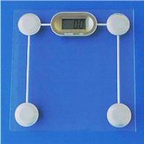 Siltec GS-1 Glass Digital Bathroom Scale, 440 x 0 2 lbs