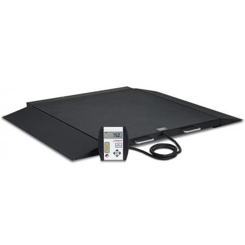 Detecto 6600 Portable Wheelchair Scale 32 in x 40 in - 1000 lb x 0.2 lb