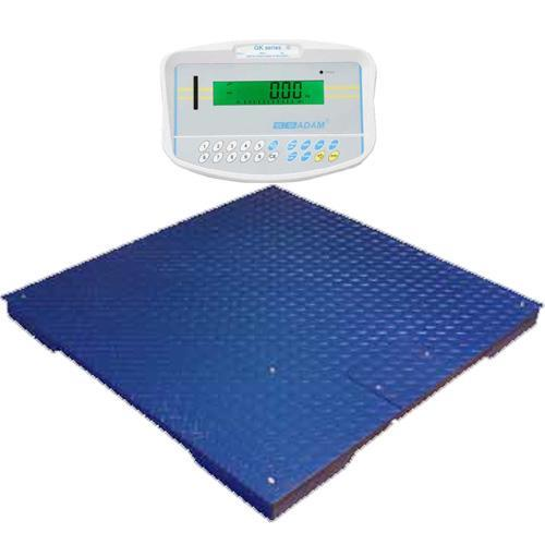 Adam Equipment PT-115-GK Floor Scale 59.1in x 59.1in (GK Indicator), 2500 x 0.5 lb