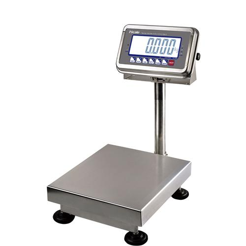 LW Measurements T-Scale BWS-100 Legal for Trade Washdown SS Bench Scale 100 x 0.02 lb
