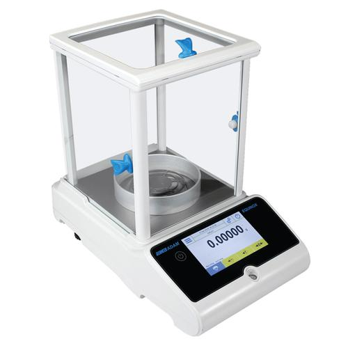 Adam Equipment EAB-125i -Equinox Analytical Balance with Internal Cal  -62 g x 0.01 mg and 120 g x 0.1 mg