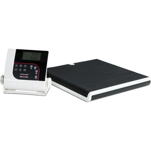 Rice Lake 160-10-7 Low-Profile Digital Physician Scale 550 lb x 0.2 lb