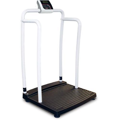 Rice Lake 250-10-2-BT Bariatric Handrail Scale with Bluetooth 1000 x 0.2 lb