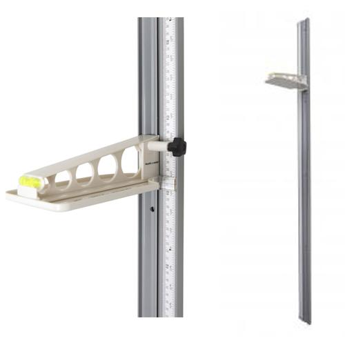Health-O-Meter 205HR High-Strength Wall-Mounted Height Rod