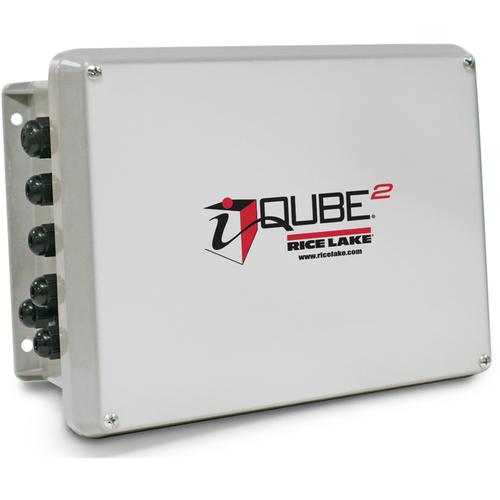 Rice Lake 108425 J-Box iQube2 4 Channel Junction Box 10 x 8 FRB Enclosure Installed 115/230 V AC Power