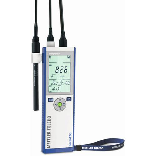 Mettler Toledo® S4 Seven2Go S4-Basic Dissolved Oxygen portable meter kit with InLab 605-ISM IP67 0.01 to 99.99 mg/L (ppm)