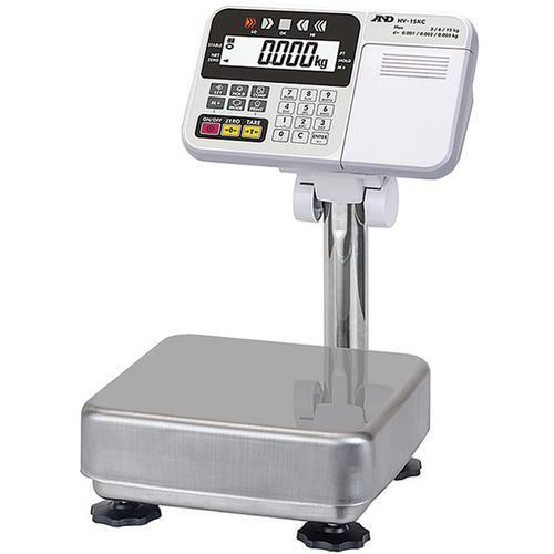 AND Weighing HV-15KCUSB Legal For Trade Platform Scale with USB  6 x 0.002 lb -15 x 0.005 lb - 30 x 0.01 lb