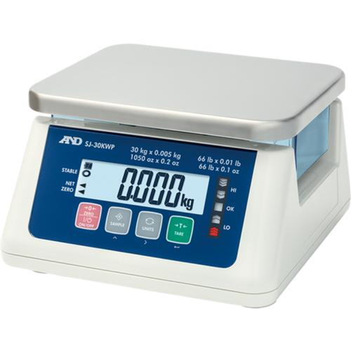 AND Weighing SJ-3000WP IP67 Checkweighing Scale 3kg x 0.1g