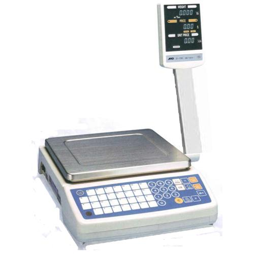AND Weighing SF-6KB Price Computing Scale, 15 x 0.005 lb
