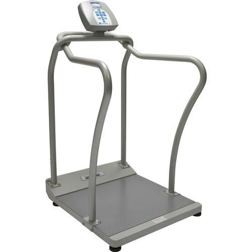 Health O Meter 2101KL-BT Digital Handrail Scale with Built-in Pelstar Wireless Technology 1000 lb x 0.2 lb