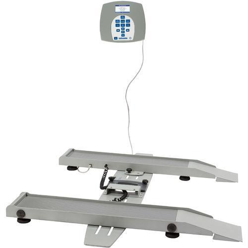 Health O Meter 2400KG-BT Portable Digital Wheelchair Scale with Built-in Pelstar Wireless Technology KG Only 363 x 0.1 kg