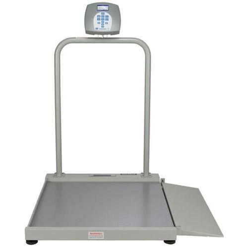 Health O Meter 2500KL-BT Digital Wheelchair Scale with Built-in Pelstar Wireless Technology 1000 x 0.2 lb