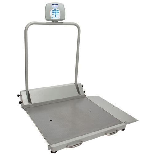 HealthOMeter 2600KG-BT Digital Wheelchair Scale with Built-in Pelstar Wireless Technology KG Only 454 x 0.1 kg
