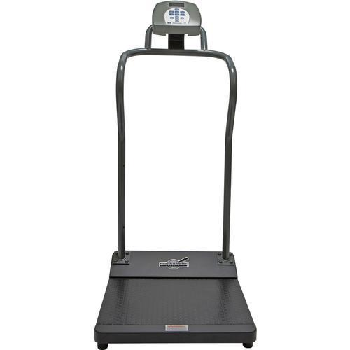Health-O-Meter 3001KG-AM-BT Antimicrobial Digital Platform Scale with Built-in Pelstar Wireless Technology  KG Only  454 x 0.1 kg