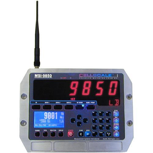MSI 159625 MSI-9850 Cellscale RF Digital Indicator