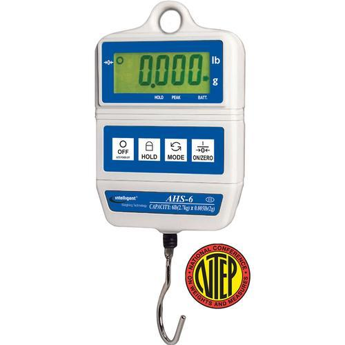 UWE AHS-6  (3-AHS-S601-022)  Intelligent-Weigh NTEP Hanging Scale 6 x 0.005 lb