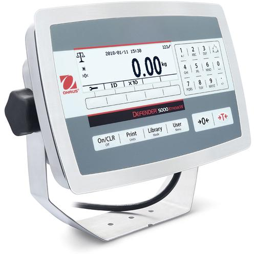 Ohaus TD52XW Stainless Steel IP68  Multifunctional Indicator for Standard Industrial Applications