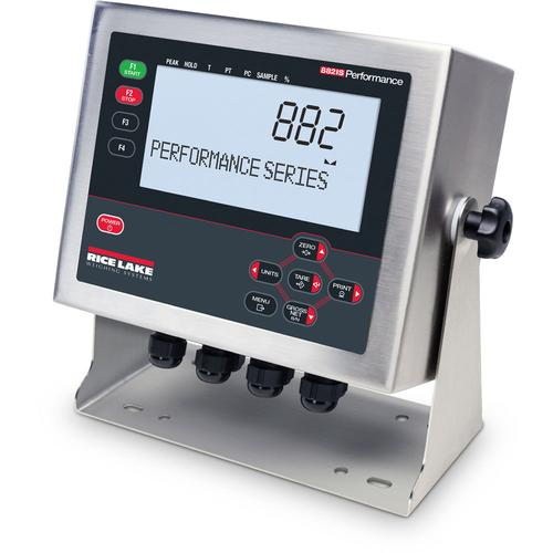 Rice Lake 882IS Intrinsically-Safe 195091 Digital Weight Indicator with Tilt Stand - Power Sold Separate