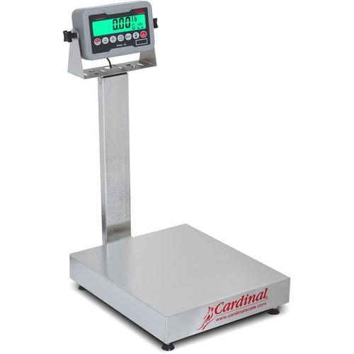 Detecto EB-30-185B Rival Stainless Steel Legal for Trade Bench Scale 30 x 0.01 lb