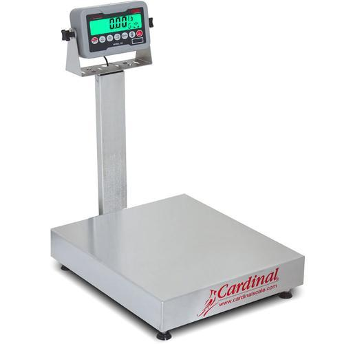 Detecto EB-150-185B Rival Stainless Steel Legal for Trade Bench Scale 150 x 0.05 lb
