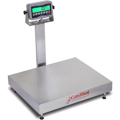 Detecto EB-300-185B Rival Stainless Steel Legal for Trade Bench Scale 300 x 0.1 lb