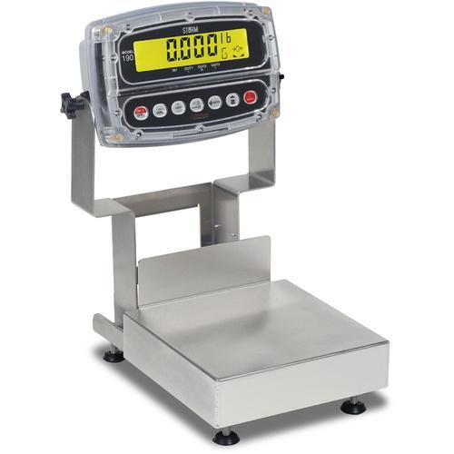Detecto CA12-60KGW-190 Storm Washdown IP69K Admiral Bench Scale 60 kg x 0.02 kg