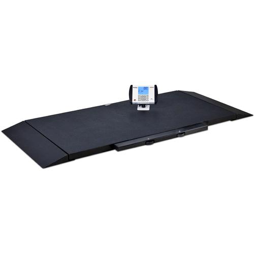 Detecto 8500 Portable Stretcher Scale 800 lb x 0.2 lb