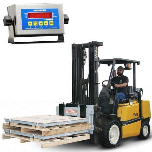 Cambridge DL-CSW-10AT-LFT-5K Legal for Trade 36 x 16 Electronic Lift Truck Scale System  5000 x 5 lb