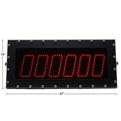 Cambridge CSW-265 6 inch Scoreboard with 50 foot cable